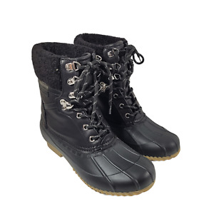 Tommy Hilfiger   Women's Rian Lace-Up Winter Boots   Size 7