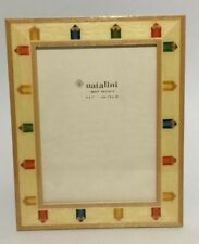 Children's Picture Frame by Natalini Decorated With Children's crayons