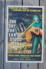The Day the Earth Stood Still Lobby Card Movie Poster Michael Rennie