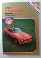 CLYMER Camaro 1967-1981 (Includes Z28) Shop Manual / Book