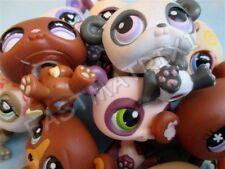 Littlest Pet Shop Lot of 3 Random Cute Panda Bears Animal Figures Authentic