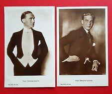 2 x Foto AK Schauspieler KARL BECKERSACHS   ( 19185