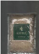 Ralph Lauren Desert Plains Silk Tan Standard Sham Woven Texture New