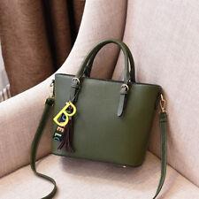Bolso de mujer maletero asas bandolera verde élégant grande como piel 2420