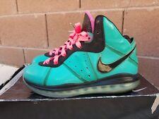 Nike Lebron 8 South Beach Size 10 miami vice basketball
