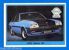 SUPER AUTO - Panini 1977 -Figurina-Sticker n. 153 - OPEL MANTA SR -Rec
