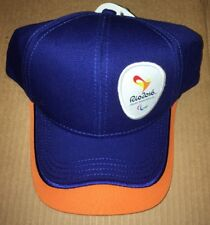 Official Rio 2016 Olympics Cap Hat (Hard to Find Souvenir)