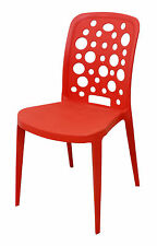 Stylish Cafe Chair - Discontinue Colour - Orange - Price Reduce to Clear !!!