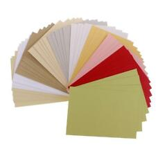 50 Sheets Pearlescent Cardstock Paper Crafts Specialty Paper Assorted Colors