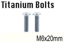 [US Seller]  x2 Titanium Ti Bolt M6x20mm Tapered Torx T30 M6 20L Bicycle Screw
