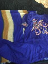 Blue Asian Shalwar Suite