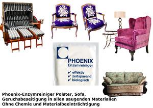 Phoenix-Enzymreiniger Geruchsentferner Polster -  Leder– Sofa – Autositze uvm.