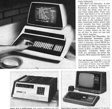 1979 Mike 203A Osborne 1 TRS-80 Heathkit H8 IMSAI 8080 Poly 88 Apple II Kilobaud