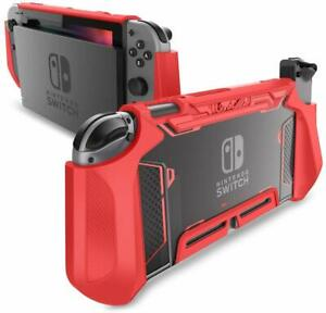 For Nintendo Switch Case Mumba TPU Grip Protective Hard Shell Dockable Cover New