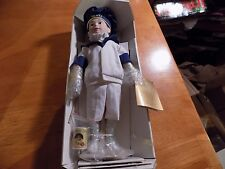 Heinz Baked Bean Franklin Mint Country Store Porcelain Boy Doll 1986 Vintage