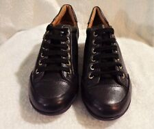 PIKOLINOS Black Leather Lace Up Sneakers Size 38 - US 7- 7.5
