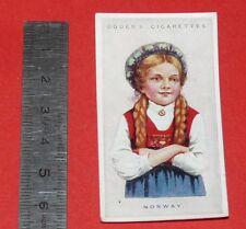 CIGARETTES CARD OGDEN'S 1923 CHILDREN OF ALL NATIONS N°32 NORWAY NORVEGE NORGE