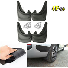 4Pcs/Set Car Fender Protect Accessories ABS Soft Plastic Mud Flaps Splash Guards