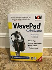 Nch Software Wavepad - Audio Editor - CD-Rom - PC & Mac *Ships Free