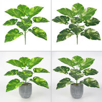Artificial Palm Plants Leaf Fake Tropical Large Palm Tree Leaves Greenery Decor