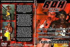 Ring of Honor Straight Shootin 2 Cold Scorpio ROH PWG WCW ECW WWE OOP Flash Funk