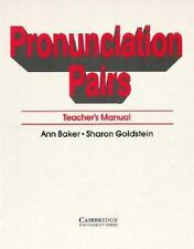 Pronunciation Pairs: An Introductory Course for Students of English-ExLibrary