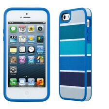 Speck FabShell Case iPhone SE 5s 5 Smartphone Cover Color Bar Arctic Blue Gray