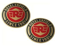 Tool Box Sticker Decal Emblem Set With RE Logo For Royal Enfield Universal @us