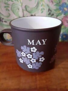 Hornsea Pottery May 'Love Mug' Kenneth Townsend 1977 Lancaster Vitramic Vintage