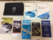 2010 Mazda 3 Three Owner's Owners Manual Guide Books Literature (8 pieces)