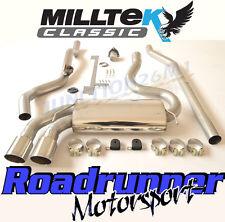 Milltek MCXAU108 Audi Coupe UR Quattro 20v Turbo Exhaust System Non Res Polish