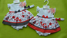 Cotton Blend Spotted Outfits & Sets (0-24 Months) for Girls