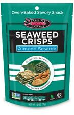 Seapoint Farms Seaweed Crisps Almond Sesame (35g) - Pack of 2