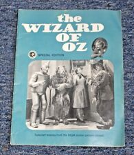 "VINTAGE ""THE WIZARD OF OZ"" (JUDY GARLAND) SELECTED SCENES SPECIAL EDITION BOOK"