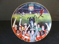 "DANBURY MINT LIVERPOOL FOOTBALL CLUB ""CHAMPIONS OF EUROPE 1981""  8"" PLATE"