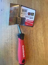 Goldblatt Tempered 9.65-in Flexible Stainless Steel Blade Inside Corner Trowel