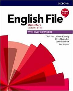 Oxford ENGLISH FILE Elementary STUDENT'S BOOK Fourth Edition 9780194031592