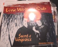 LONE WOLF AND CUB --SWORD OF VENGEANCE SEALED   RARE     LASERDISC  LD
