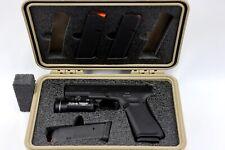 "Precut foam insert for your Pelican 1170 case fits Glock â""¢ 17 19 21 +5 mags +Trl"