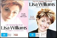 Lisa Williams My Life Among The Dead - Series 1 & 2 (DVD) NEW/SEALED