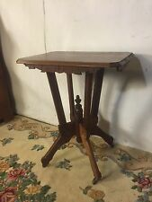 Stand Antique Gothic Solid Maple See12pix4size/etc.Flat Rate Shipping.MAKE OFFER