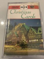 A HOUR OF CHRISTMAS CAROLS - UK CASSETTE TAPE - VARIOUS CHOIRS- TESTED