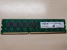 Crucial 4gb ddr3 RAM 1066mhz pc3-8500 ECC ct51272ba1067.m18fkd