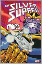 SILVER SURFER (#34-38) REBIRTH OF THANOS (QUEST #1-2) + MARVEL SOFTCOVER TPB NEW