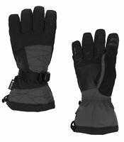 Spyder Herren Skihandschuhe M Overweb Gore Tex Glove Man Handschuhe schwarz grau