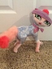 "Bratz Dolls Petz Purple Pink Cat Bobble Head Poseable Plush 13"" Perfect!"