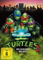 Turtles 2 - Das Geheimnis des Ooze (Teenage Mutant Ninja) DVD NEU + OVP!