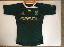 CCC South Africa rugby shirt rare Canterbury SA sasol L large jersey kit