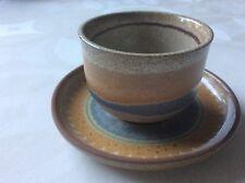 KMK Kupfermühle Teebecher Teeschale mit Untertasse Teetasse