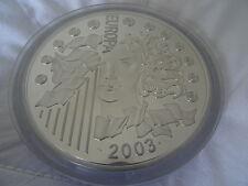 Frankreich 50 Euro 2003 PP 1 Kg Silber Muenze Silver Coin 1. Jahrestag des Euro